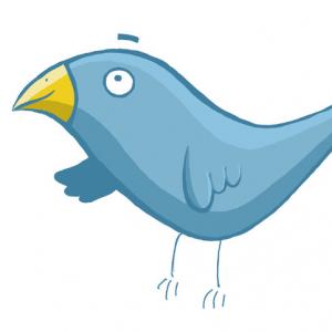 Illustration - Cartoon - Blauer Vogel