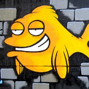 Graffiti - Fisch