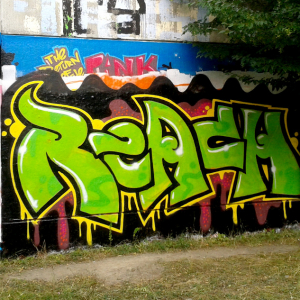 Graffiti - Schriftzug