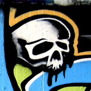 Graffiti - Totenkopf